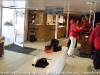 National Geographic Explorer - mud room... storage for your boots and assembly point to board zodiacs and kayaks
