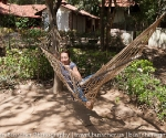 Tiger Trails Resort - dangerous hammock